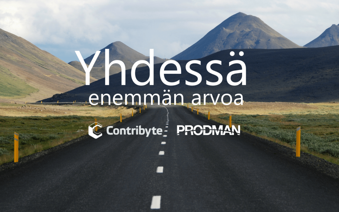 Contribyte Purchases the Business Operations of Prodman