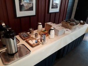 PI-suunnittelun kahvitarjonta