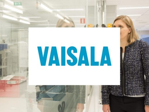 Customer experience: Strengthening Agility and Creating SW Competence of Vaisala