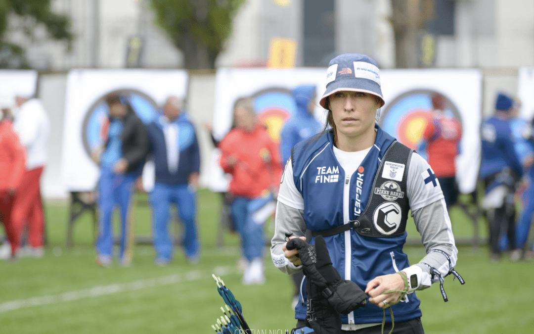 Jousiampuja Taru Kuoppa – taistelua Olympia-paikasta ja uusi Suomen ennätys!